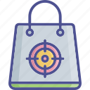 adventure, aim, exploring, orientation, target icon