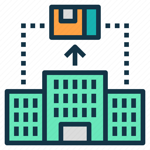 business, company, export, goods, management, sell icon