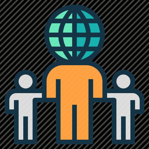 business, company, global, international, leader, world icon