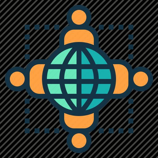 business, co, company, international, operation icon