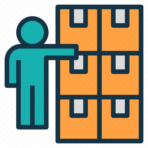 organization, product, provide, store, supplier icon