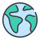 earth, globe, planet, world