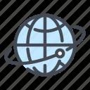 globe, world, internet, network, satellite, connection
