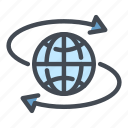 globe, world, internet, connection, network