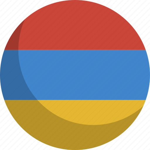 armenia, country, flag, nation icon