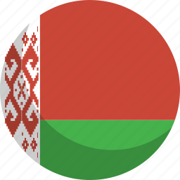 belarus, country, flag, nation icon