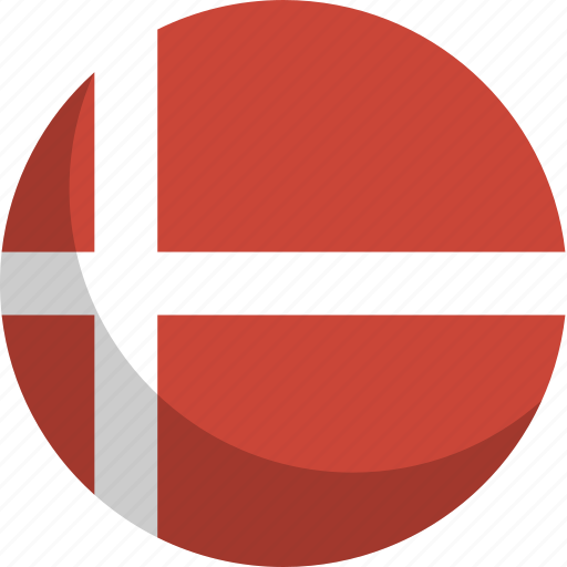 country, denmark, flag, nation icon