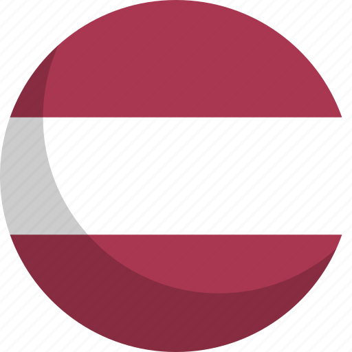country, flag, latvia, nation icon