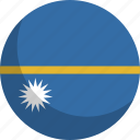 country, flag, nation, nauru icon