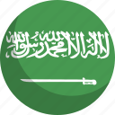 arabia, country, flag, nation, saudi icon