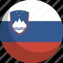country, flag, nation, slovenia