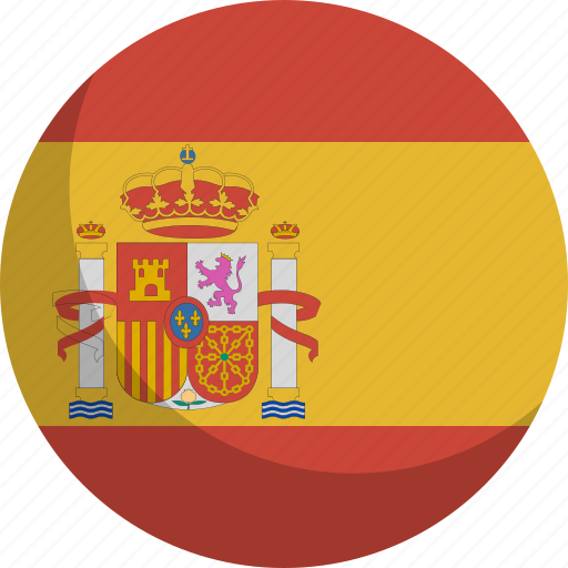 country, flag, nation, spain icon