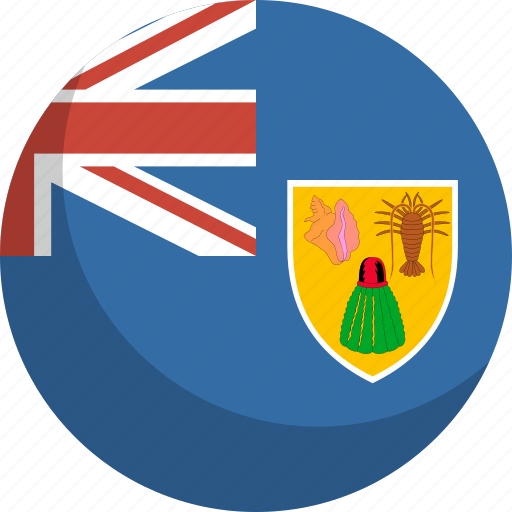 and, caicos, flag, islands, nation, the, turks icon