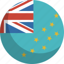 country, flag, nation, tuvalu icon