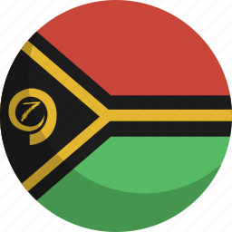 country, flag, nation, vanuatu icon