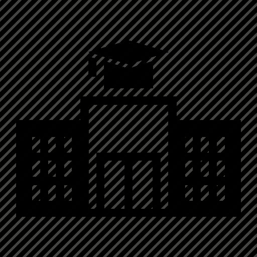 Building, school, university icon - Download on Iconfinder