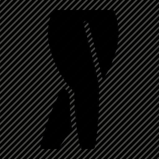 female, gluteal, hip, knee, leg, limb icon