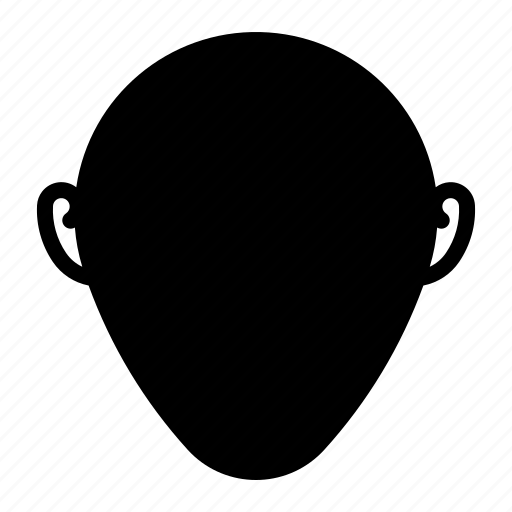 Brow, cheekbone, chin, face, organ icon - Download on Iconfinder
