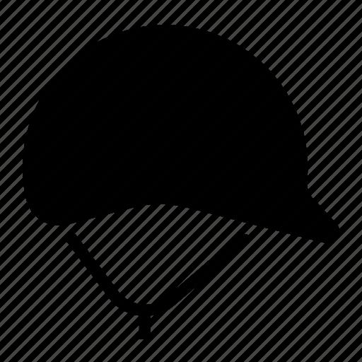crash, head, helmet, protector, safety icon