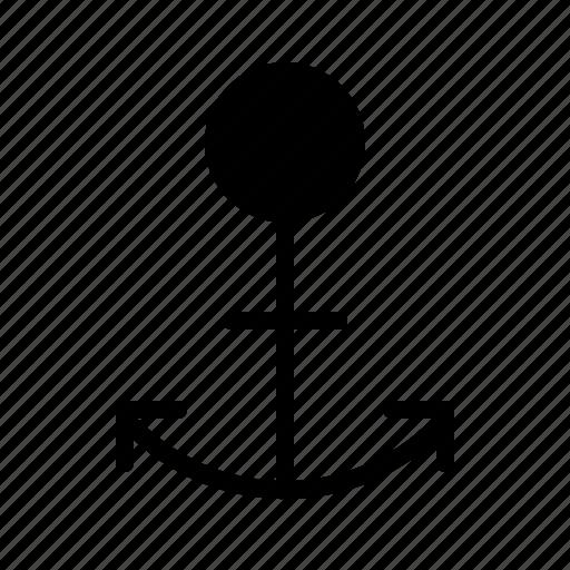 anchor, harbor, html, sea, ship, water icon