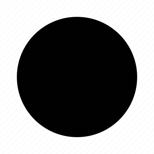 circle, form, geometry, radial, record icon