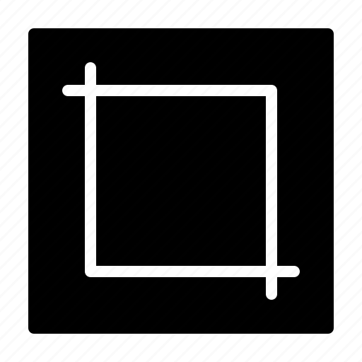 crop, cut, image, resize, retouch icon
