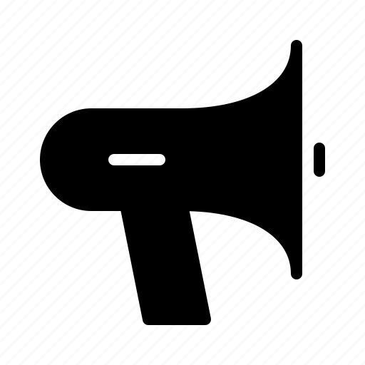 ad, commercial, loud, marketing, megaphone icon