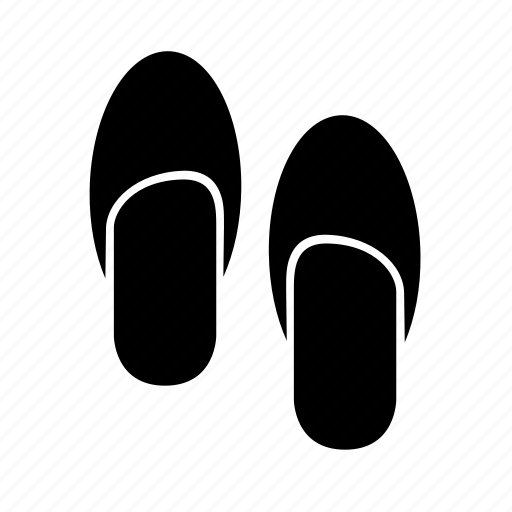 footgears, footwear, pair, sandal, thongs icon