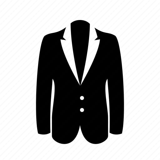 cloth, coat, fashion, jacket, suit, vest icon