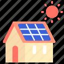 building, energy, house, panel, power, solar, sun