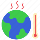earth, ecology, environment, global, temperature, warming, world icon