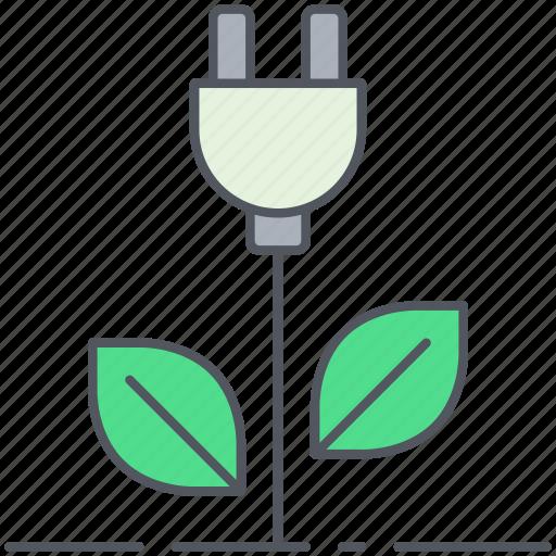 eco, ecology, energy, environment, power, renewable, sustainable icon
