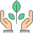 ecology, environment, green, growth, nature, nurture, plant icon