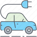 car, ecology, electric car, electricity, tesla car, transport, vehicle icon