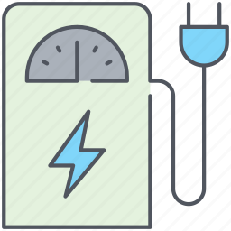 ecology, electricity, electro, fuel, gas, pump, station icon