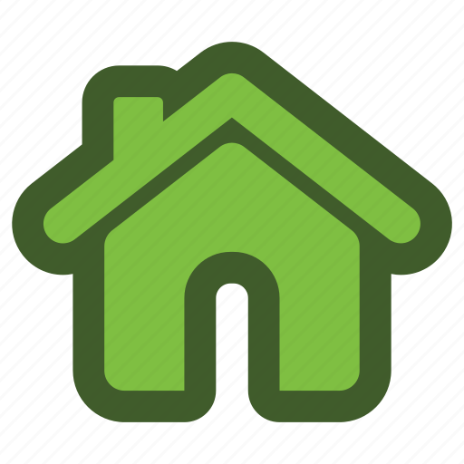 go, green, home, house, icon, roof icon