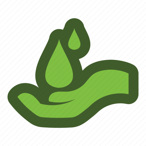 go, green, hand, icon, safe, water icon