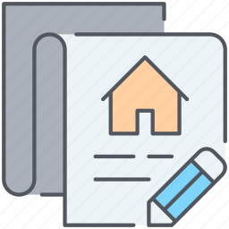 agreement, contract, deal, loan, mortgage, real-estate, signature icon