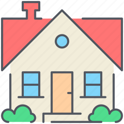 home, house, property, real-estate, residential, suburb, villa icon