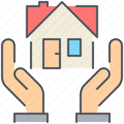 give, home, house, lease, real-estate, rent, residential icon