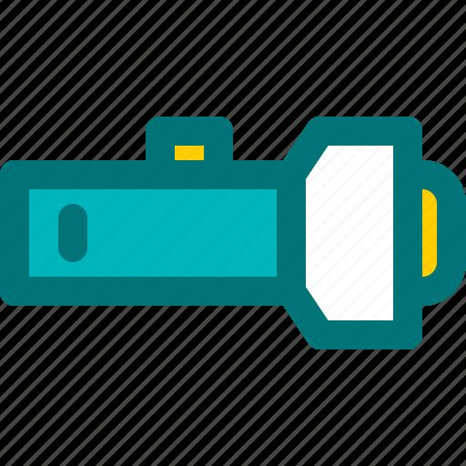dark, flash, light, safety, tool icon