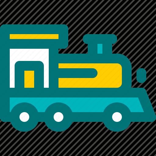 old, steam, train, transportation, wheels icon