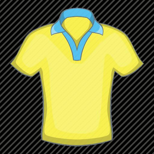 Cartoon, design, fashion, mens, polo, sign, textile icon - Download on Iconfinder