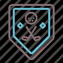 associated, club, golf icon