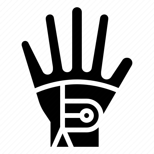 equipment, gloves, golf, sport icon