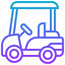 cart, golf, sport, transportation, vehicle icon