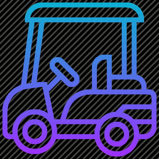 cart, golf, sport, transportation, vehicle icon