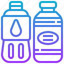 beverage, bottle, drink, water icon