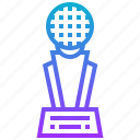 award, ball, golf, reward, sport, trophy icon