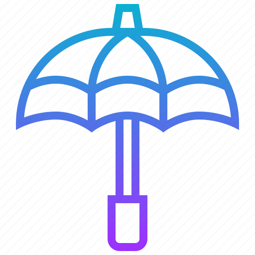 golf, outdoor, sport, umbrella icon